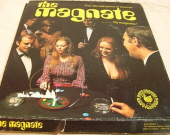 Vintage Game Of Chance - The Magnate - DoDo Designs