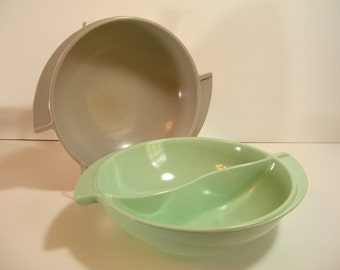 Melamine Serving Bowls, Mid Century Modern SErving Bowl Set
