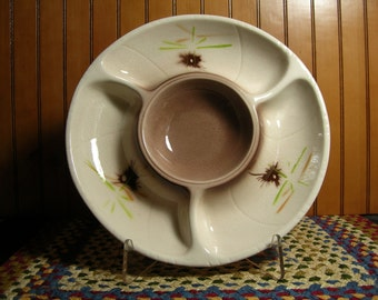 Vintage California Pottery Chip and Dip