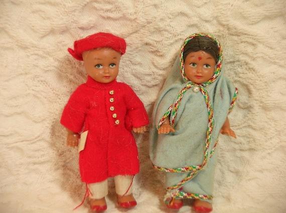 Two Little Vintage Dolls