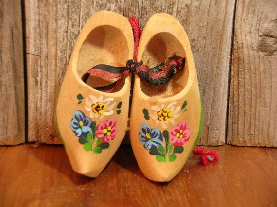 Little Vintage Dutch Shoes