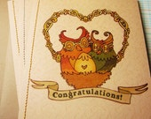 Owl Baby Greeting Cards