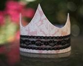 RESERVED Passport to Paris Fabric Crown