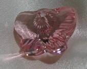 pink swarovski butterfly crystal 18mm