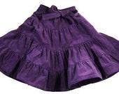 purple corduroy skirt for girls