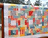 Quilt Baby Toddler Salt Air Fabrics HANDMADE