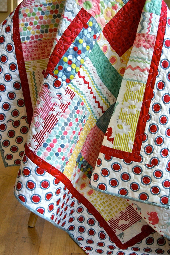 Quilt Hullabaloo Handmade Baby Childs Lap Throw