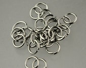 Jump RINGS 100 pcs of STAINLESS Steel Jump Rings Link Surgical Jumprings 6mm 20G Necklace Bracelet Wholesale Jump Rings Bulk Jumprings