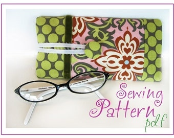 INSTANT DOWNLOAD Sassy Eyeglass Case