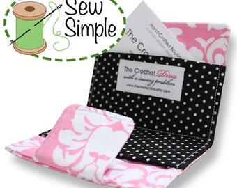 INSTANT DOWNLOAD Stylish Business Card Wallet