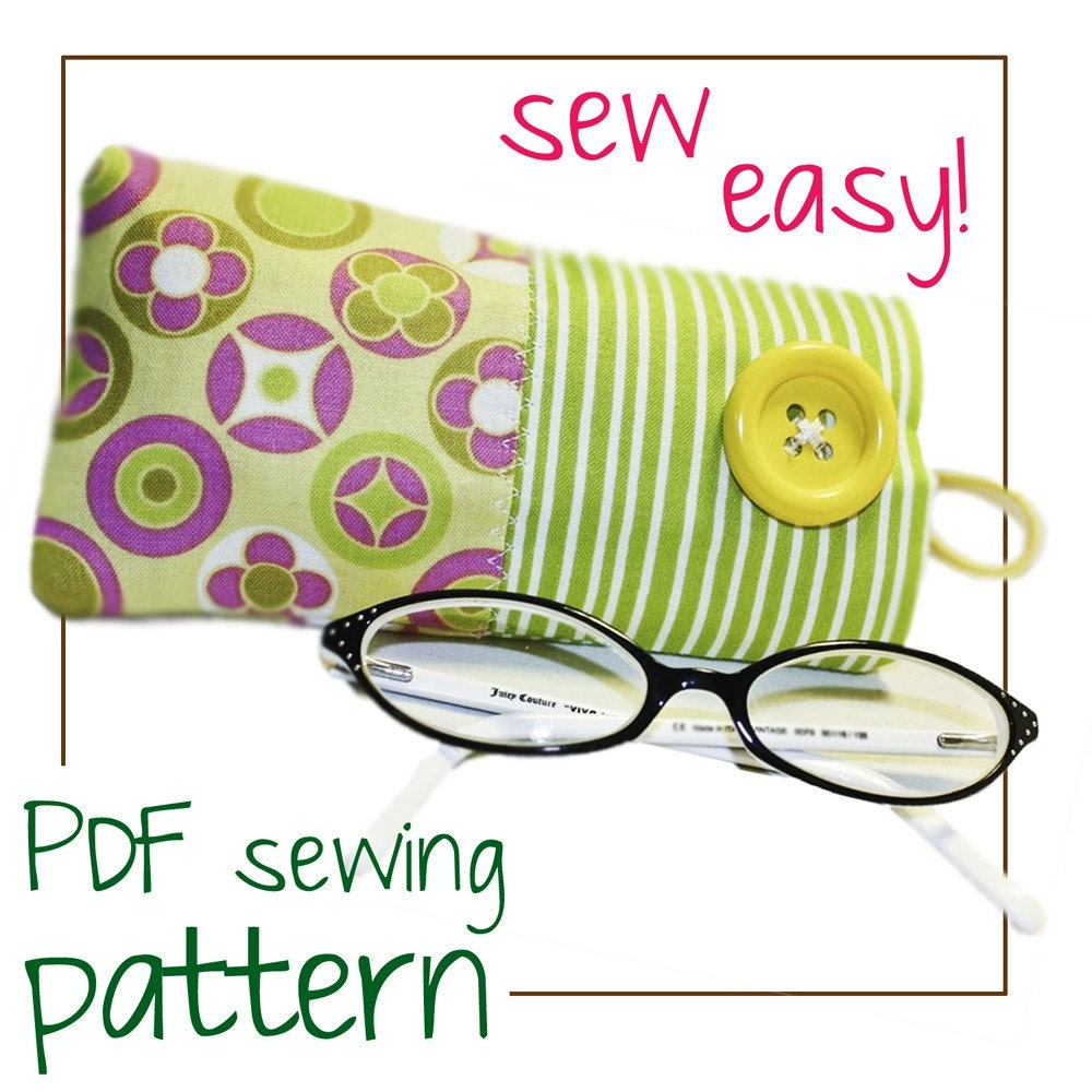 "Eye Glass Cases Pattern (5""x7"" hoop) - SheriO Productions"