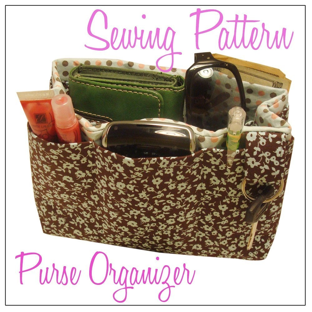 Purse Organizer Sewing Pattern Pdf