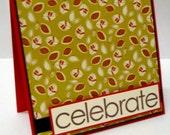 Celebrate Leaf Card