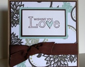 Wishing You Love Wedding Card