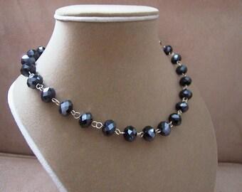 NEW MARKDOWN: Blue Velvet - Blue Swarovski Crystal Necklace