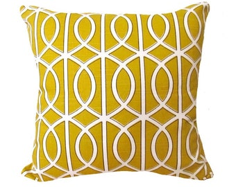 Dwell Studio Bella Porte Citrine Decorative Throw Pillow Free Shipping