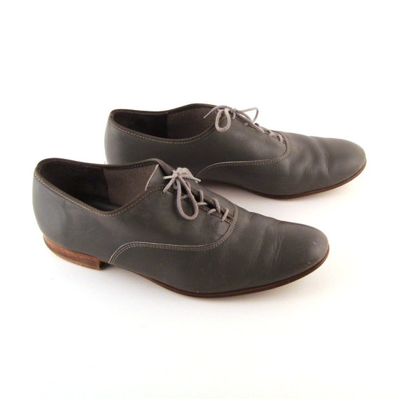 Vintage Leather Oxford Shoes