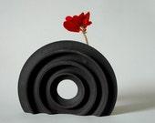 Reserved for Marie Christine - Sculptural vase