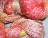GRAPEFRUIT - Kettle Dyed Merino\/Silk Yarn