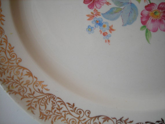 Vintage Taylor Smith Plate early 1900s