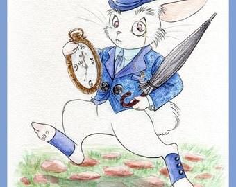 White Rabbit - Print