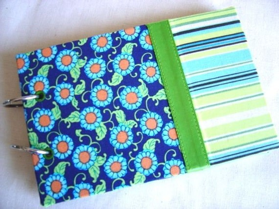 Recipe Book with Amy Butler Coordinating Fabrics