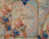 Boy  Happy Birthday Gift Tags
