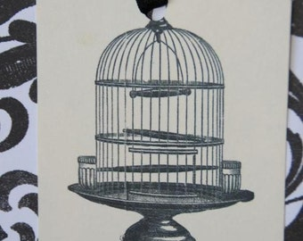 Bird Cage Gift Tags