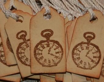25 Primitive Clock Price Tags