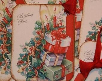 Christmas Cheer Holiday Christmas Tags