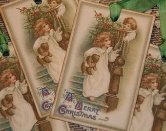 Christmas Tags - A Merry Christmas Gift Tags