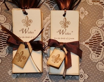 100 Wish Tags for Wedding Wish Trees