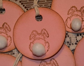Peter Cottontail Gift Tags