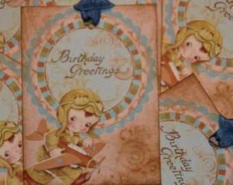 Boy Birthday Gift Tags