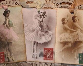 Ballet Ballerina Variety Gift Tags