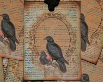 Pretty Crow Tags