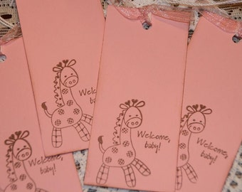 Baby Shower Wishes - Baby Wish Tree Tags - 25