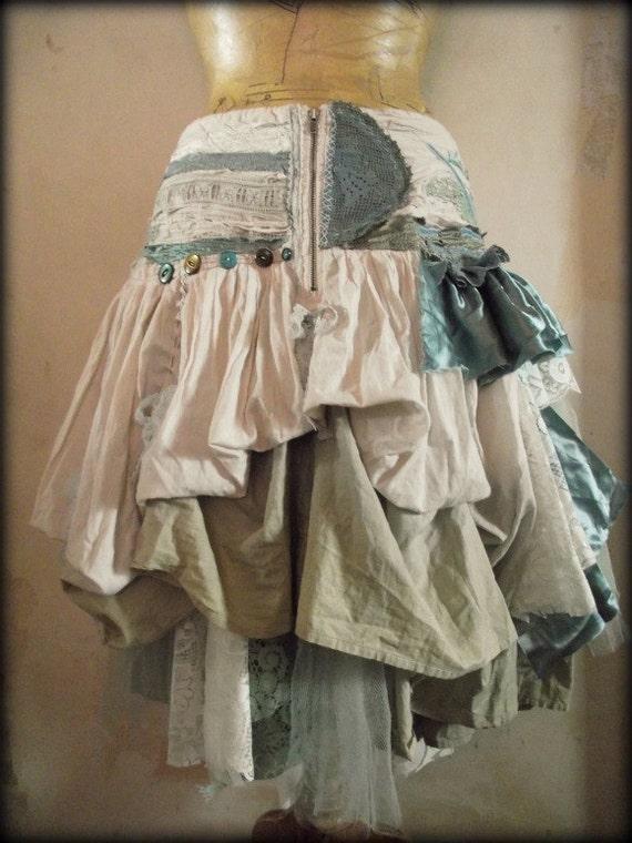 RESERVED FOR BARA.........Seafoam skirt