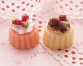 Strawberry Creme Puddings - 6pcs