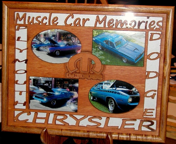 Custom Carved Wood Picture Mats