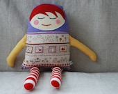 Humpty Dumpty Doll - Special Order for Damia