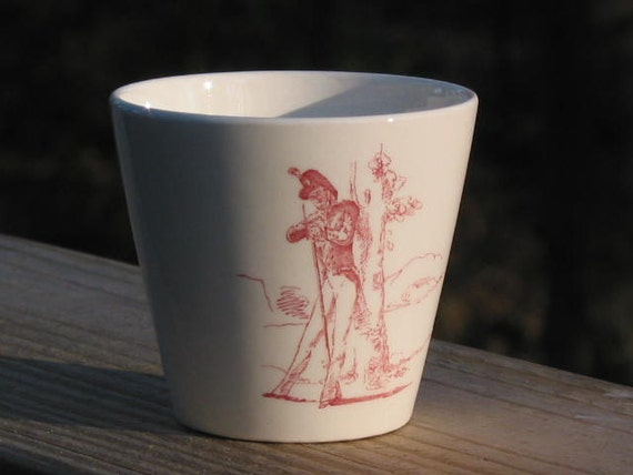 Wedgwood Association of Graduates USMA West Point NY red Cup