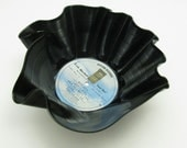 Linda Ronstadt Mad Love Upcycled Record Bowl great for use as a catch-all for fruit candy keys mail