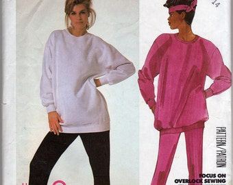 Vintage McCall's Workout Clothing Pattern