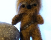Chewbacca Needle Felted Wookie