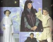 Childs Star Wars Luke Skywalker, Leia Darth Vader Halloween Costume Simplicity 4426 0578 Sewing Pattern Child Size s, m, l, 7, 8, 10, 12, 14