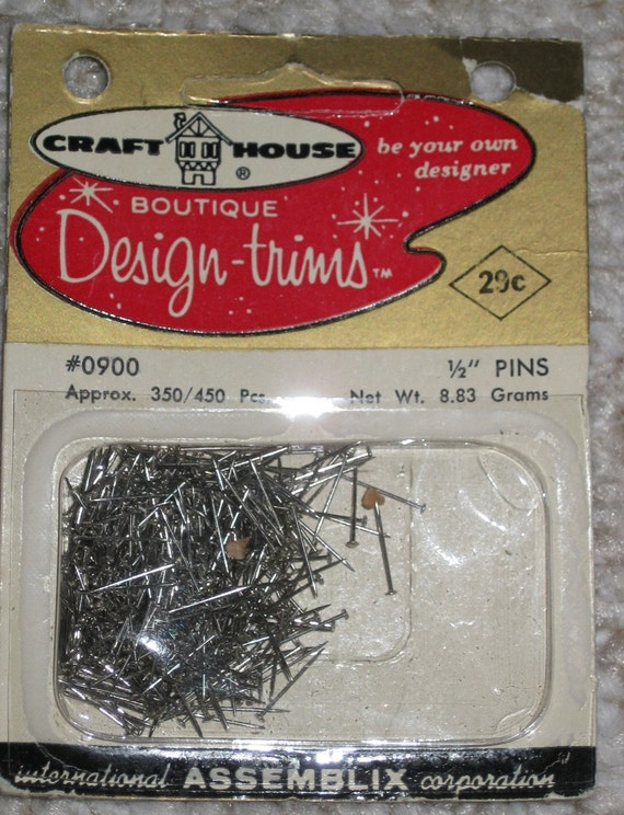 Straight Pins 1\/2 inch for sequins or crafts