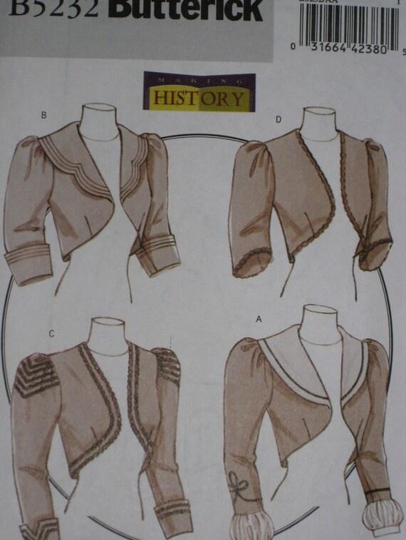 patron couture veste victorienne