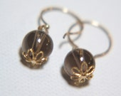 Classy Smoky Quartz Earrings