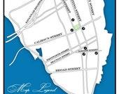 Custom Wedding Map - Tier 1